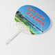 Wholesale Printed Plastic Fan Customized Cheap Manual Hand Fan