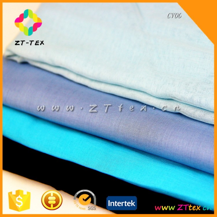Latest tops 100% cotton indian cotton voile fabric