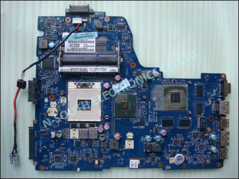 K000109860 LA-6062P For Toshiba Satellite A660 A665 series Laptop Motherboard