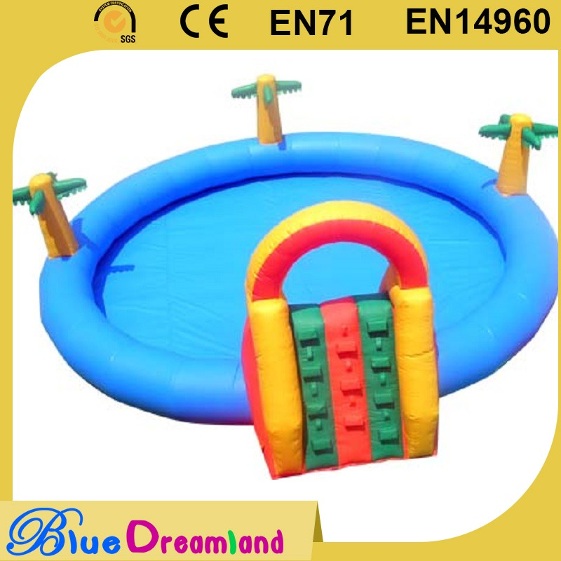 2016 new stylish plastic water slide big with CE certificate
