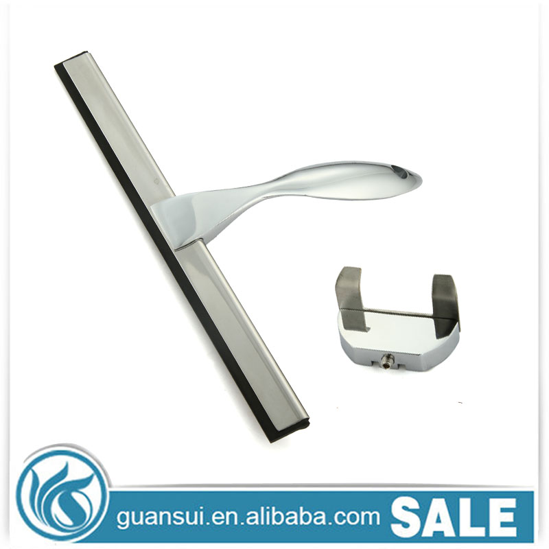 Stainless steel window squeegees