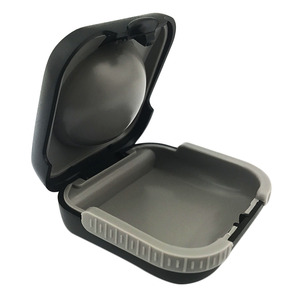 hearing aids anti-static plastic case for Starkey ,Siemens hearing aid