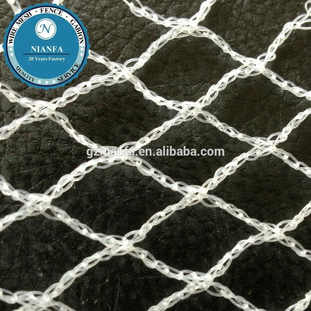 cheap uv anti bird net/agriculture anti hail system/polyethylene plastic anti hail net(Guangzhou Factory)