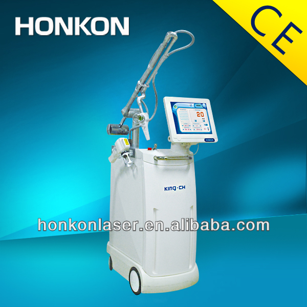 HONKON-king combines 1550 Erbium fractional laser and CO2 fractional laser together china beauty salon equipment