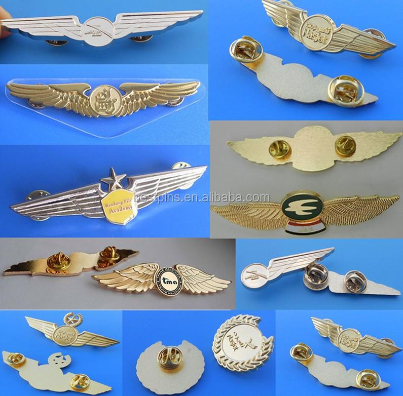 Air Force Aviation Wings Badge Lapel Pin   Buy Wings Pin,Pilot Wings Badges,Pilot  Badge Product On Alibaba.com