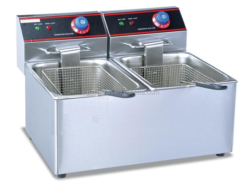 30l capacity industrial deep fryerpotato chips fryer machine