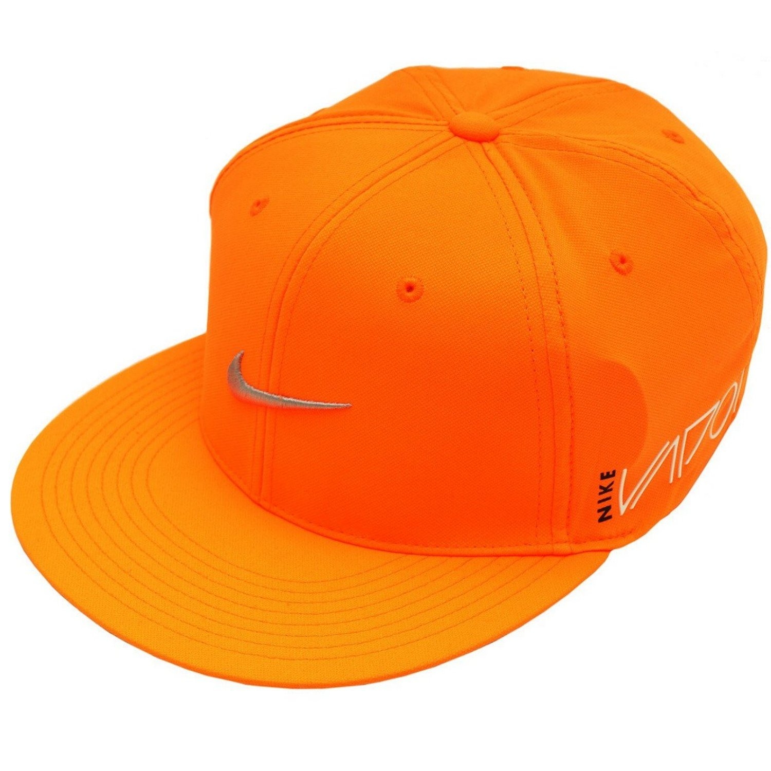 b64c3f94b45 Get Quotations · NIKE RZN Vapor Ultralight Golf Cap Pro True Tour Flex-Fit  Hat (Total Orange