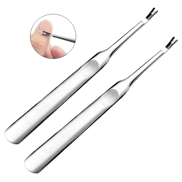 10pcs Sample Manicure Tool Nail Cleaner Cuticle Pusher