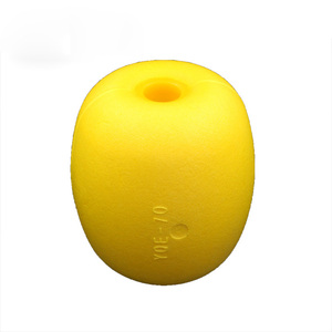 YQE Yellow Color Different Sizes Soft Commercial EVA fishing net float