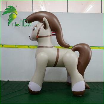 Durable Pvc Aufblasbare Pferderennenaufblasbare Springenden Pferd