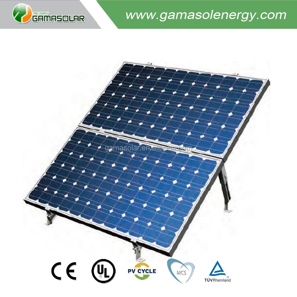 GAMA SOLAR latest pv 20w solar panel thin film in philippine market with high quality