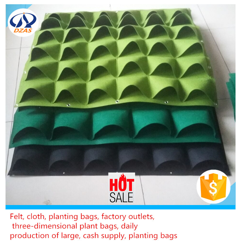 Factory direct supply of chemical fiber non-woven felt bag | planting bag | according to the needs of custom processing