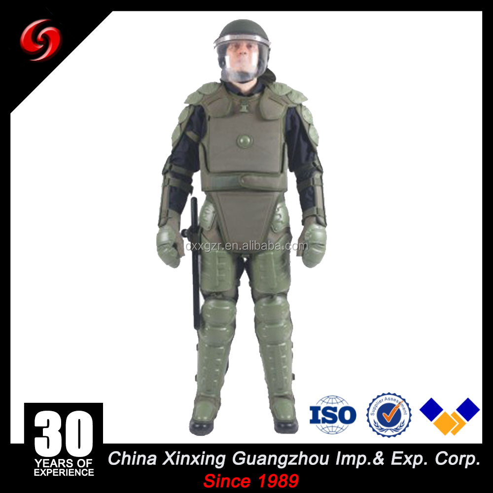 Anti Riot gear Suit Armor/Riot Full Body Protective Gear/ Riot Suit Police security gear uniform suit