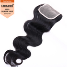 China supplier virgin brazilian human hair body wave hair with closure