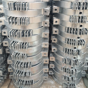 Galvanized clamps wire hanging clamps steel pole clamps