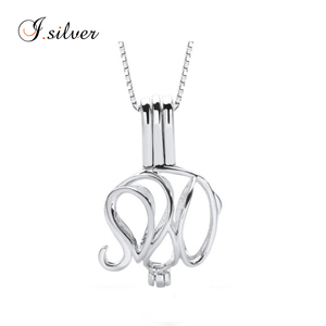 76a2189ae24cb Elephant 925 Sterling Silver Pearl Cage Pendant, Elephant 925 ...