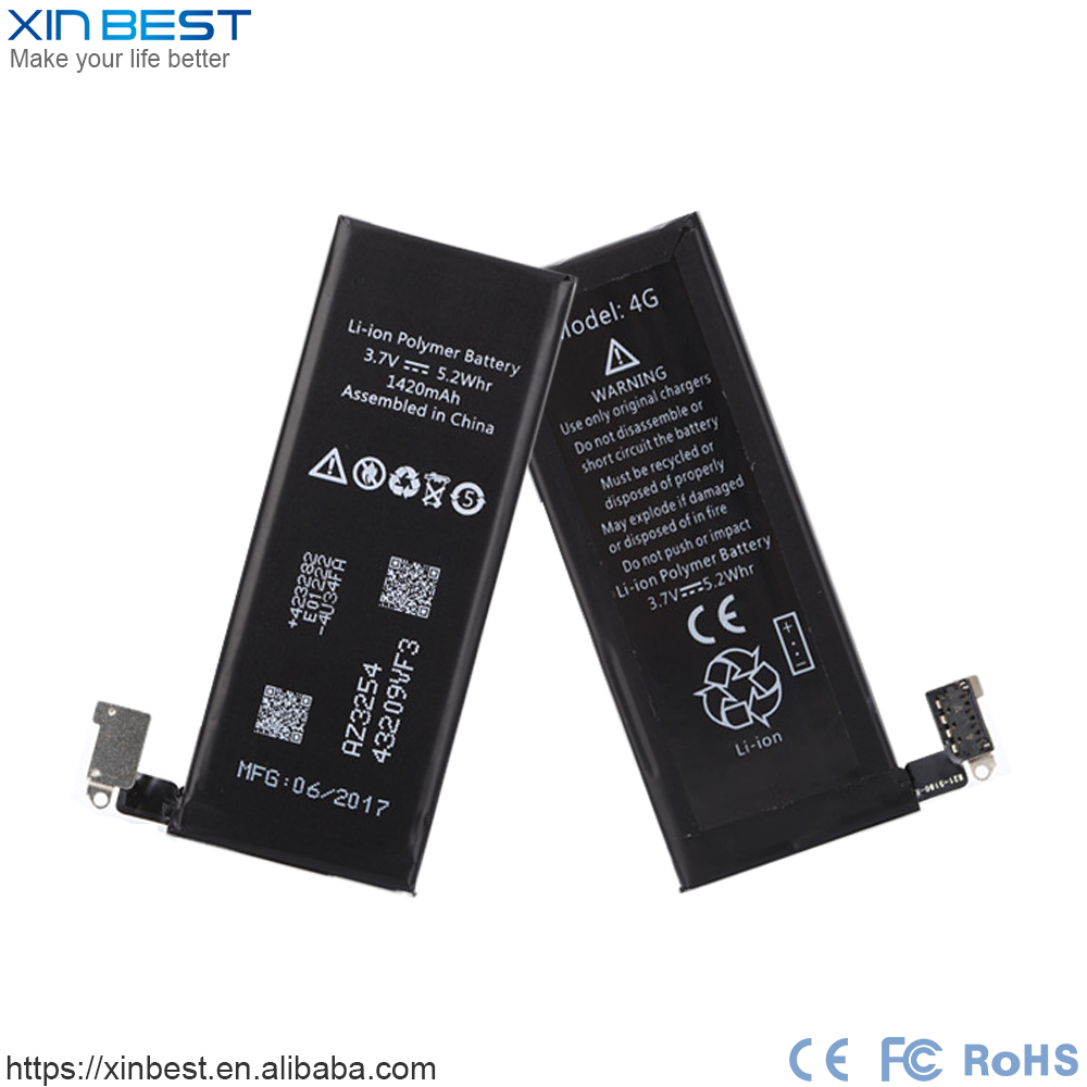 For iphone 4G original replacement battery for mobile phone
