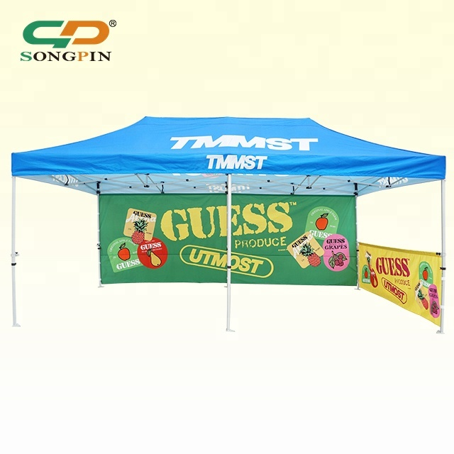 <strong>trade</strong> show outdoor marquee 10x20 canopy tent with flag