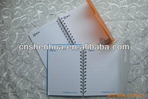 soft pvc cover 3D notebook