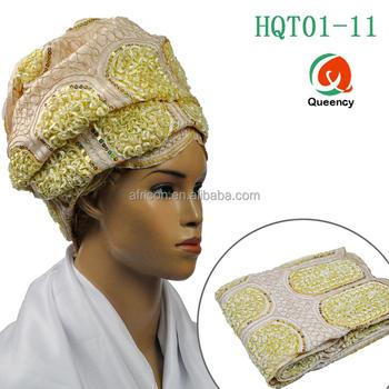 HQT01 Queency Cheap Wholesale African Turban Head Wraps Bandana Headwear  Scarf for Women b4da883de14