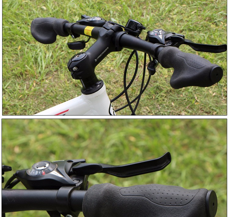 Cycling Silicone Rubber Handlebar Grips Ergonomic Locked Handle Bar Mannel De Bicicletas