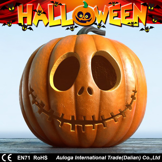 2017 cheap halloween pumpkin decorations with high quality