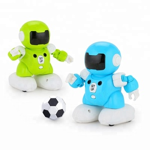 Factory price multifunctional best musical soccer toy robot for kids