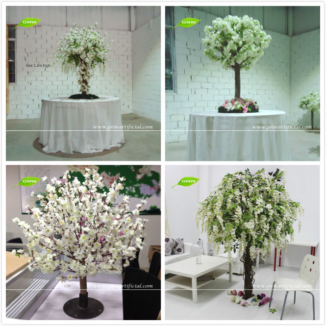 Wedding decorations wholesale wedding decor ideas gnw 8ft fake cherry blossom branches wholesale artificial wedding wishing tree for weddings junglespirit Gallery