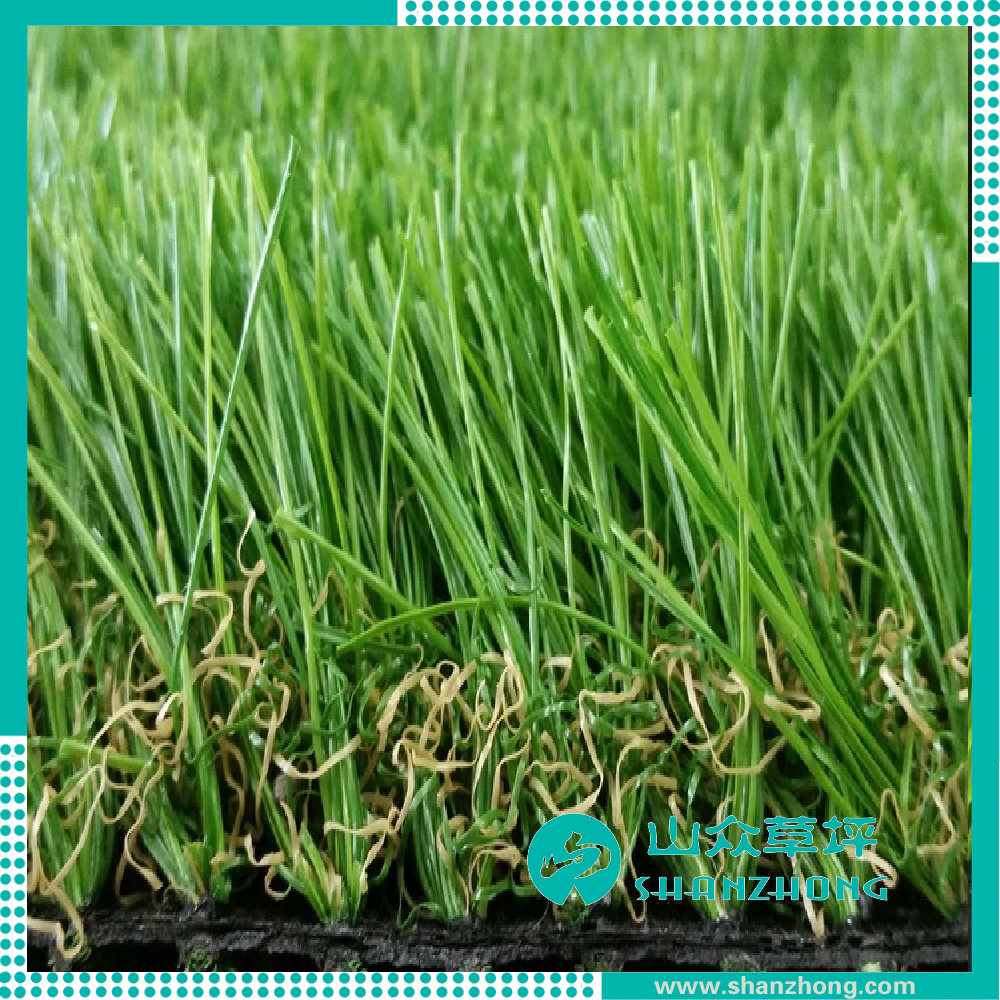 High quality and Very Soft Yarn Artificial Lawn for Landscaping
