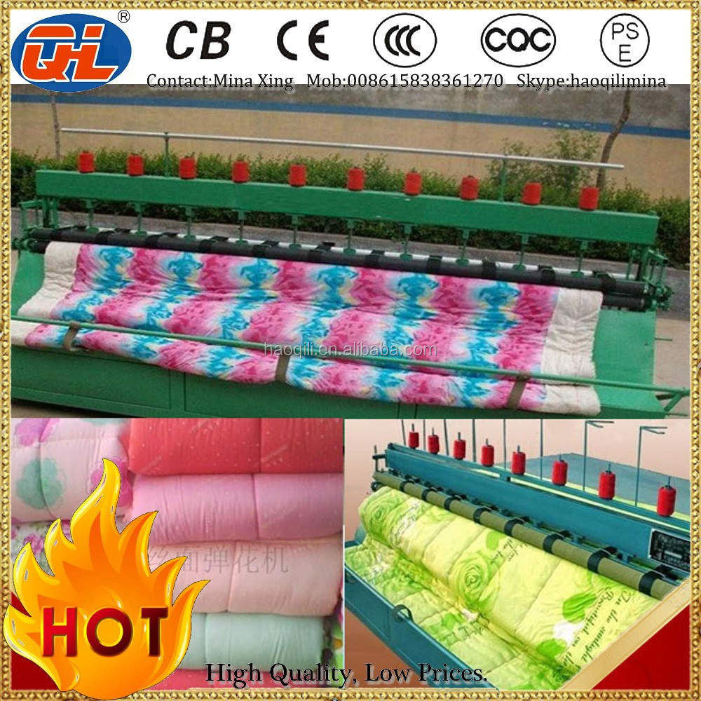 Best quality quilting machine|Automatic independent pocket spring combination|Mattress packing machine