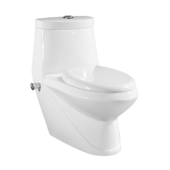 Sanitary Fitting Floor Mounted One Piece Clean Vagina Toilet Bidet
