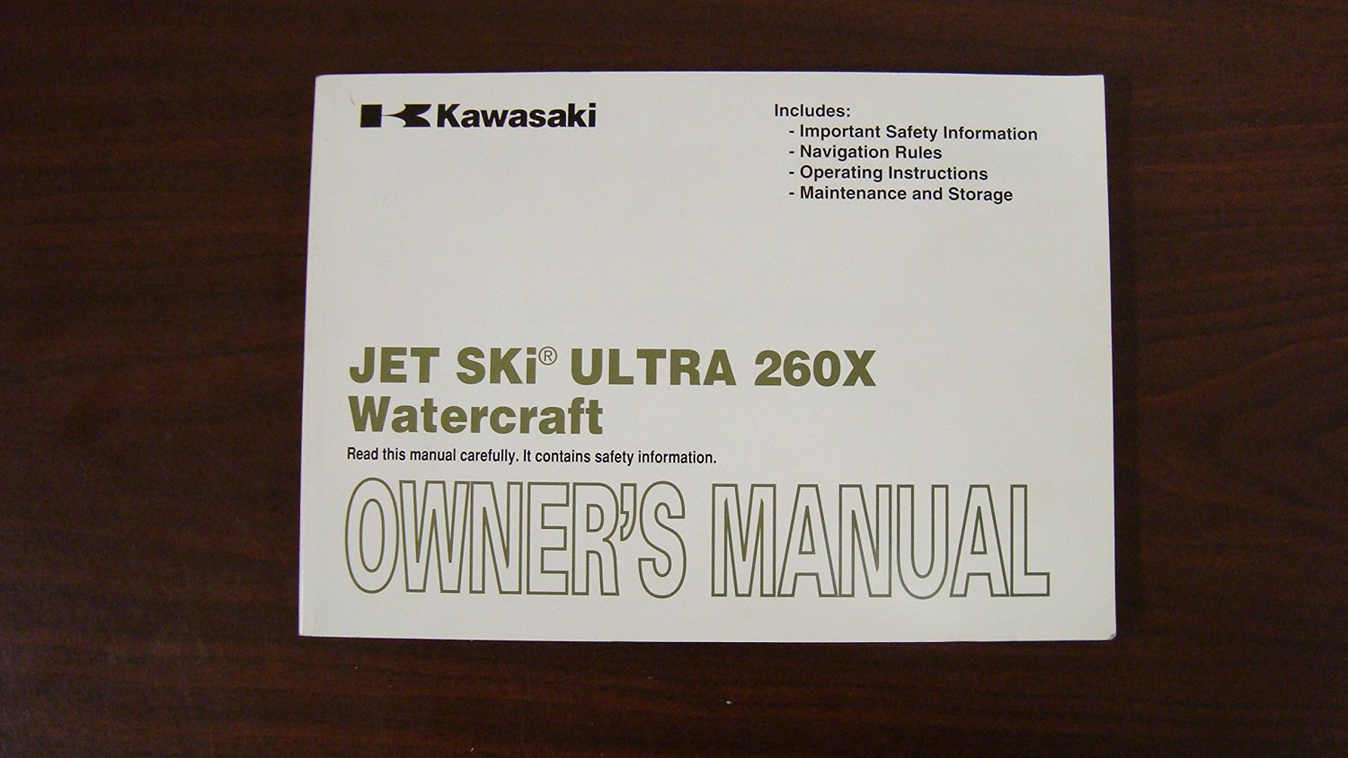 Cheap Kawasaki Gt550 Owners Club Find Wiring Diagram Get Quotations Jet Ski Manual For Ultra 260x Part 99987 1621