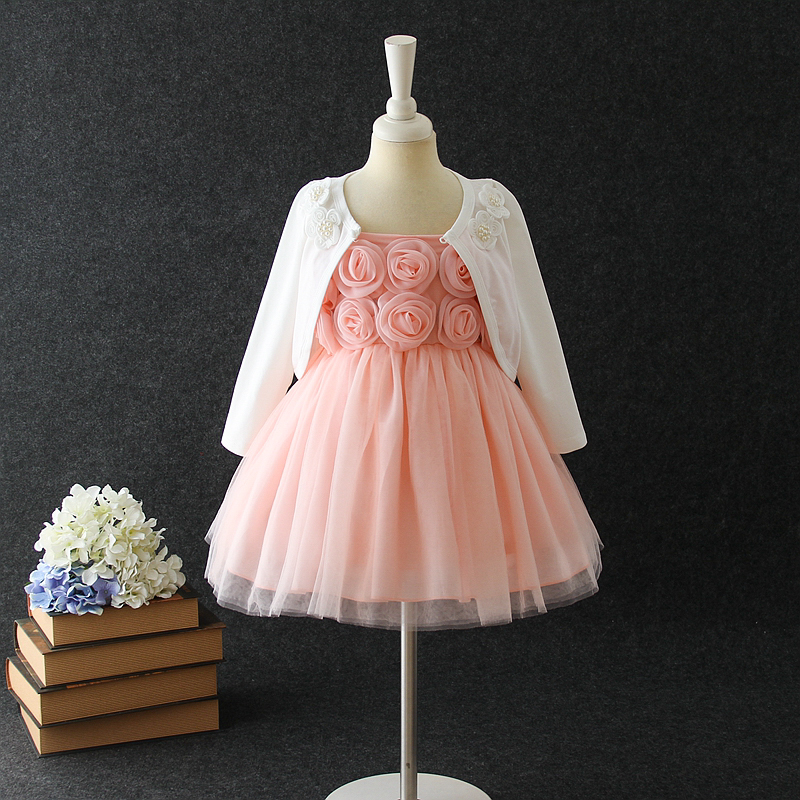 890026cf63f 2018 Hot Sale Design Peach Baby Girl Summer Dress For 1-5 Year Old ...