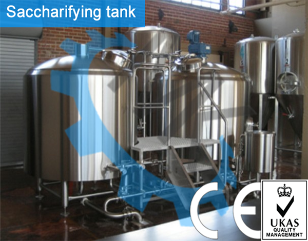 high quality beer making machine for brewing craft beer with affordable price and CE