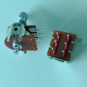 push-pull switch DPDT switch potentiometer