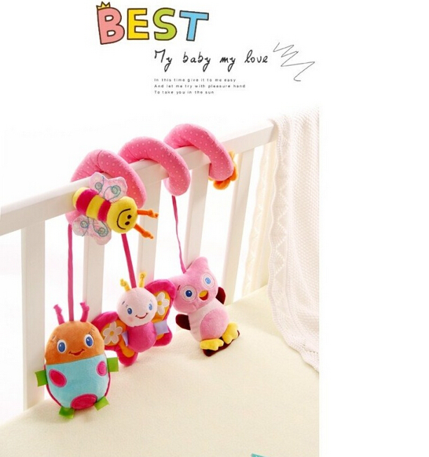 free Shipping,2014 New Musical Multifunctional Car/bed/crib Hanging Bell Newborn Baby Educational Rattles/mobile Toys for Kids