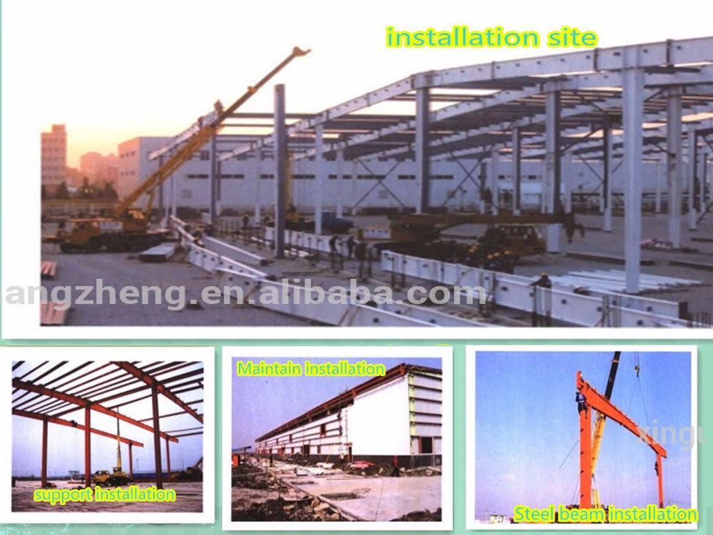 Large Span Prefab Steel Warehouse