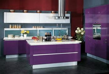 High Gloss Purple Mdf Kitchen Cabinet Laminate Materials Buy Mdf