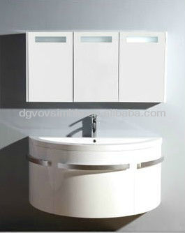 High gloss bathroom cabinet, bathroom vanity