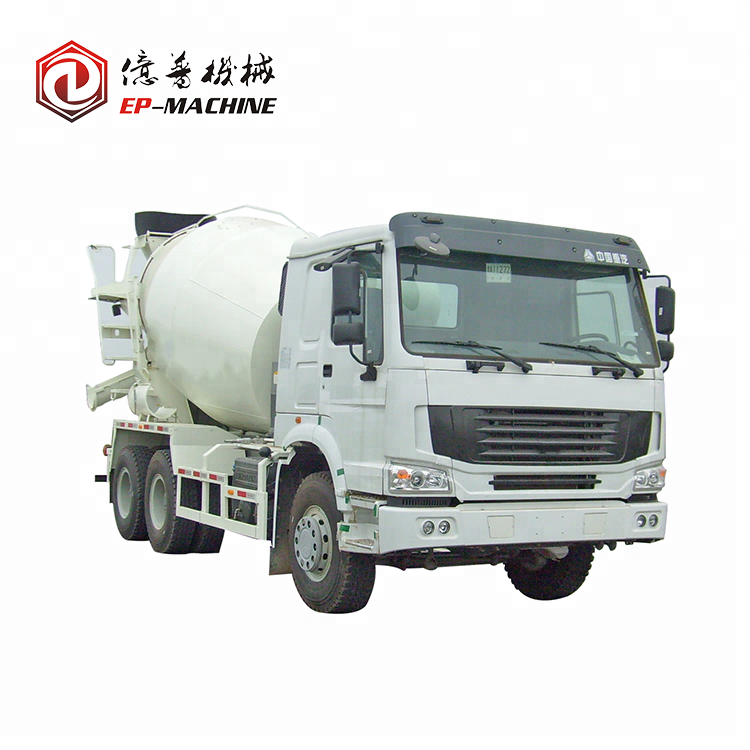 China camc 8m3 Concrete mixer truck of large capacity concrete mixer truck