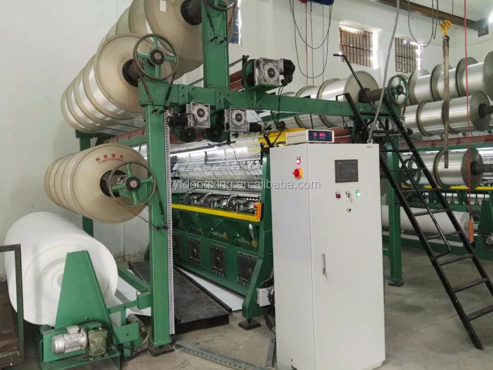 Excellent quality weaving machine raschel warp knitting looms for making garment fabric