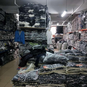 Cheap Fancy Design Bulk T-shirt Apparel Stock Lot Sales