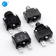 Mini Micro Miniature Small Plastic Push type Resettable Overload Protector Electrical automatic Circuit Breaker