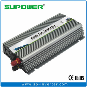 High quality Indoor design 800w Solar Micro Grid Tie Inverter for small Solar Power System