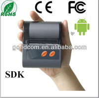 2inch Handheld POS Thermal Printer for Mobile/Tablet support printing Barcode/QR Code/Picture with CE/FCC Certificate