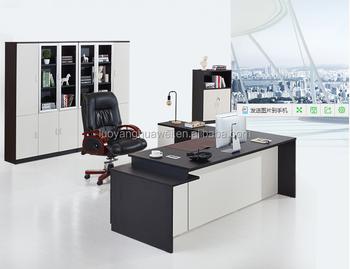 modern wooden office counter desk buy wooden. Modern Design L-shape Office Desks Wooden Boss Manager Executive Counter Table Desk Buy H