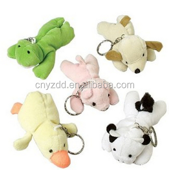 plush animal keyring stuffed animal keychain mini plush animal keychain 850aa38581e8