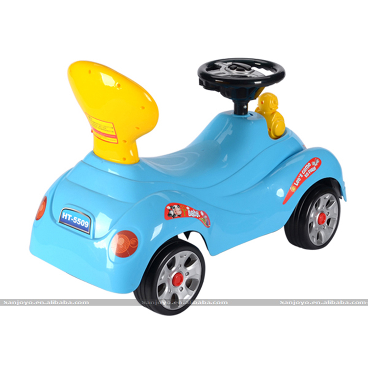 cheap ride on rc 4 wheels sliding swing ride on car for kid to drive plastic