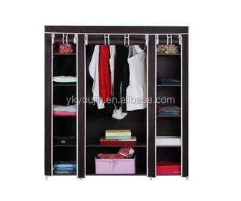 portable closet with big size wardrobe best selling design - Portable Wardrobe Closet