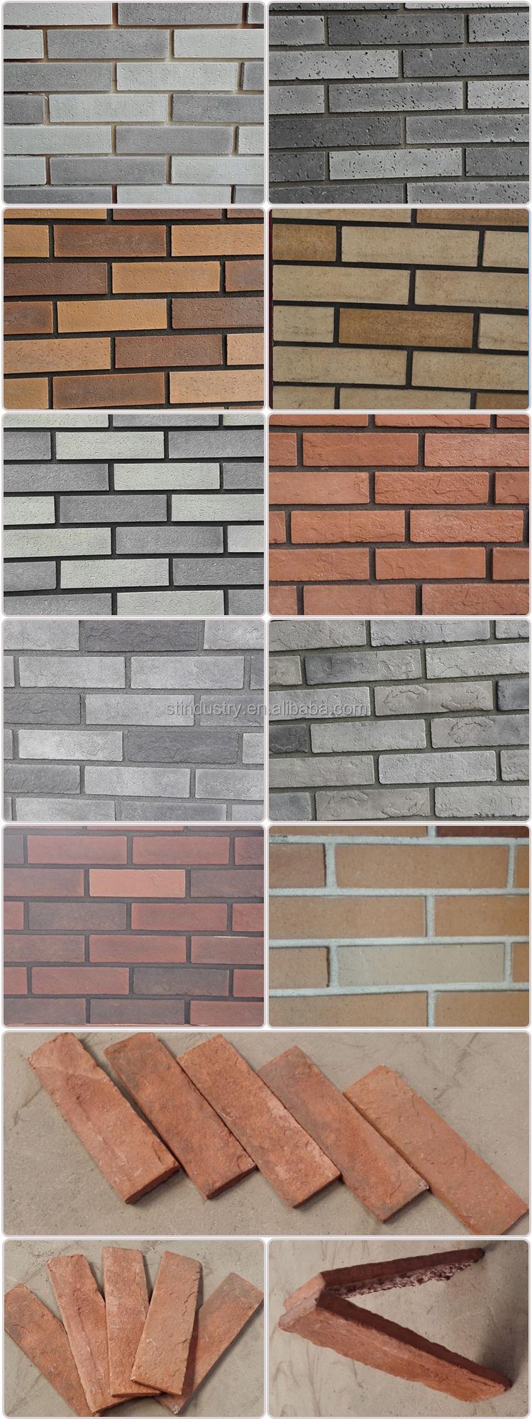 china manufacturer artificial exterior brick panels view exterior
